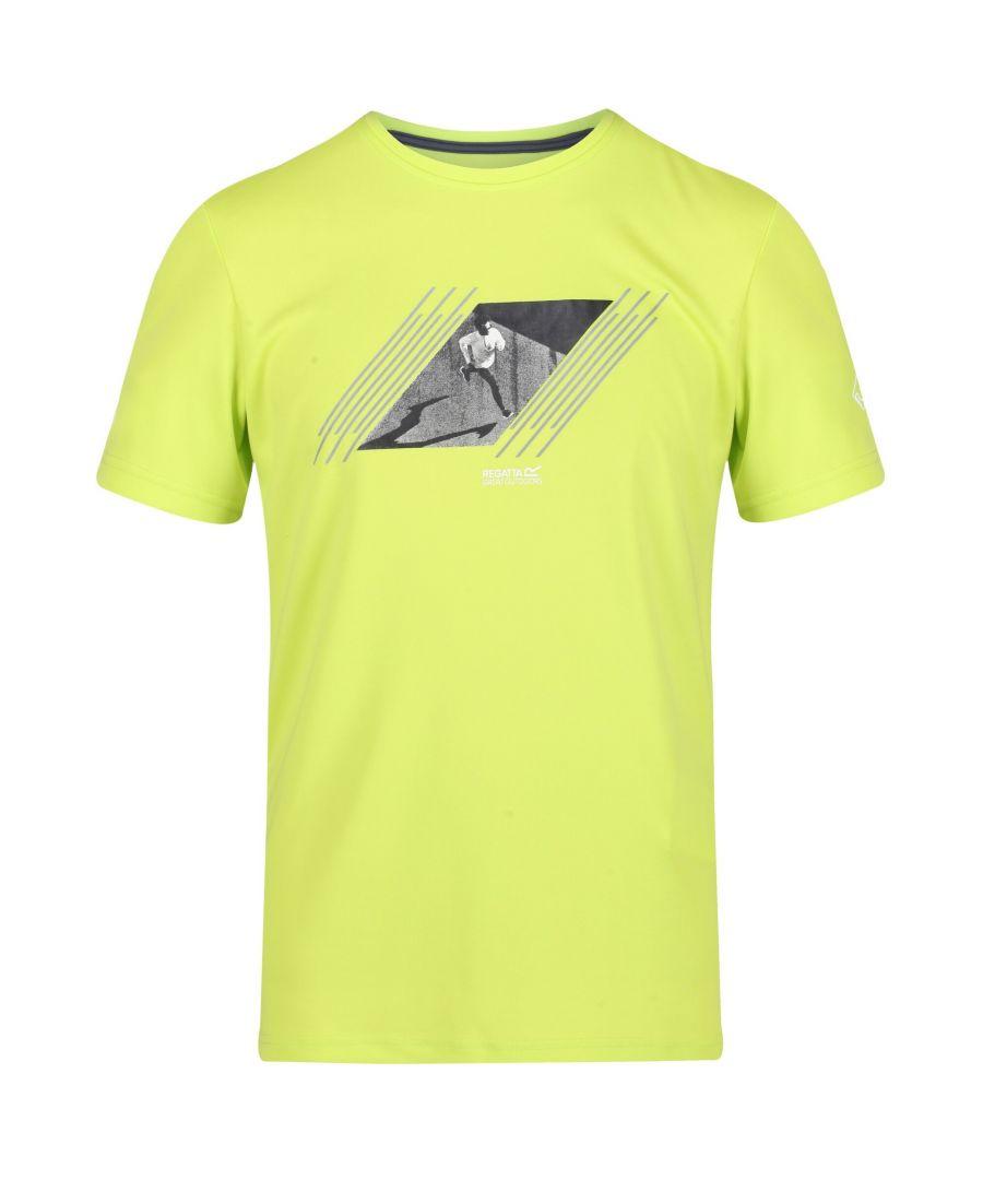 Image for Regatta Mens Fingal V Graphic Active T-Shirt