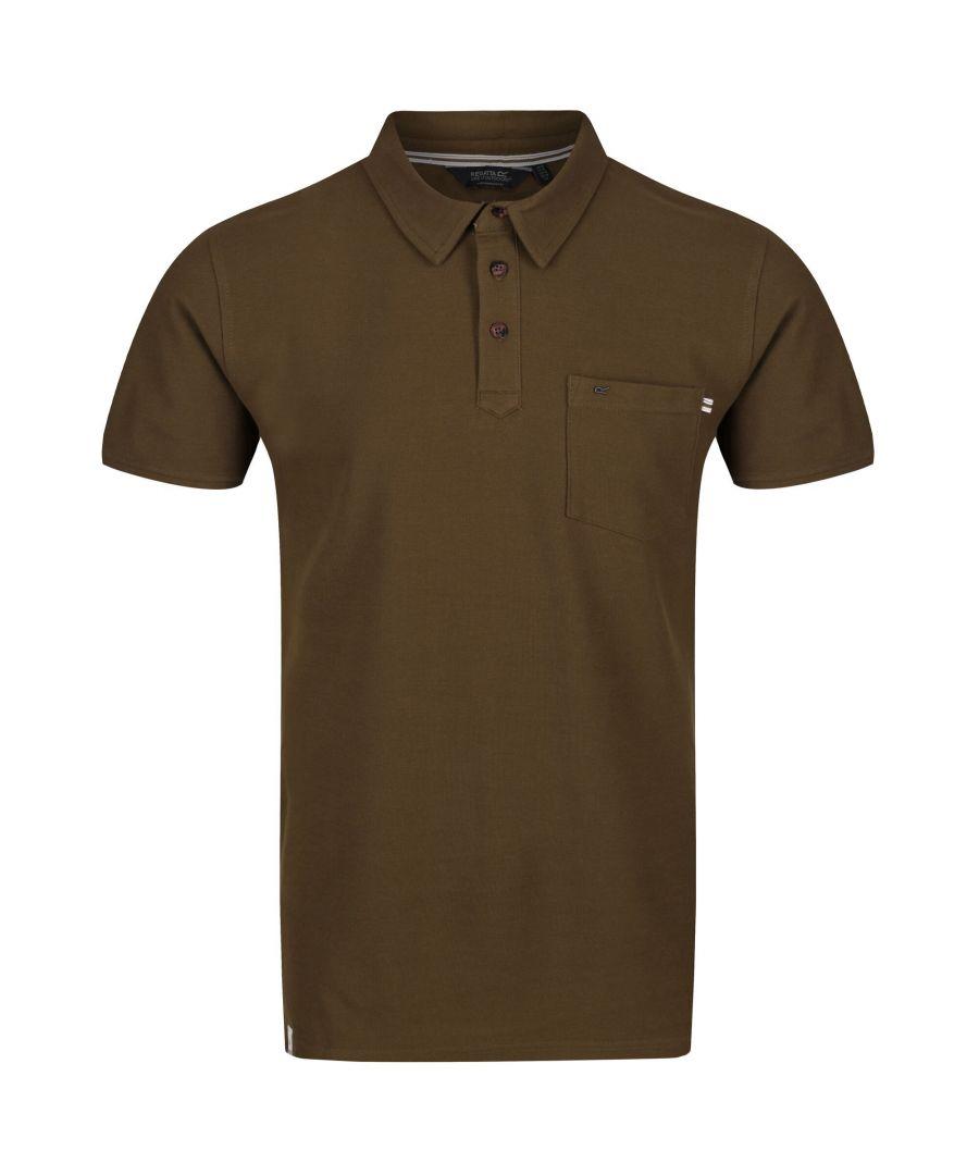 Image for Regatta Mens Barley Polo Shirt