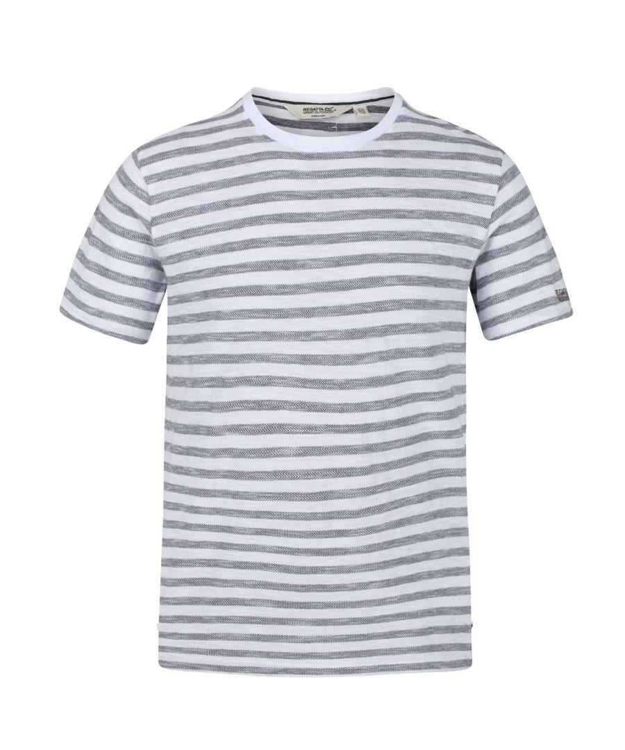 Image for Regatta Mens Tariq Striped T-Shirt