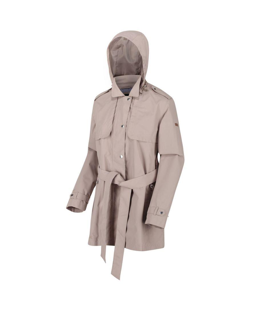 Image for Regatta Womens/Ladies Garbo Long Length Waterproof Jacket