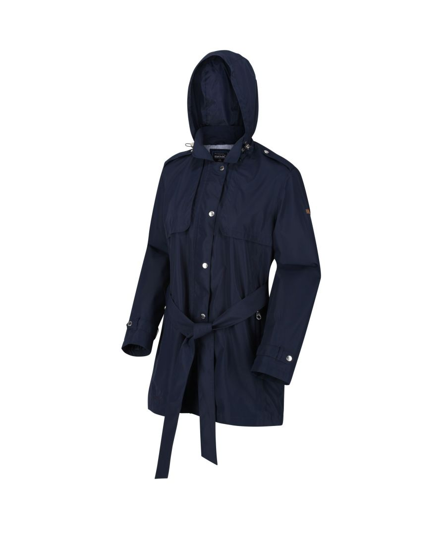 Image for Regatta Womens/Ladies Garbo Long Length Waterproof Jacket