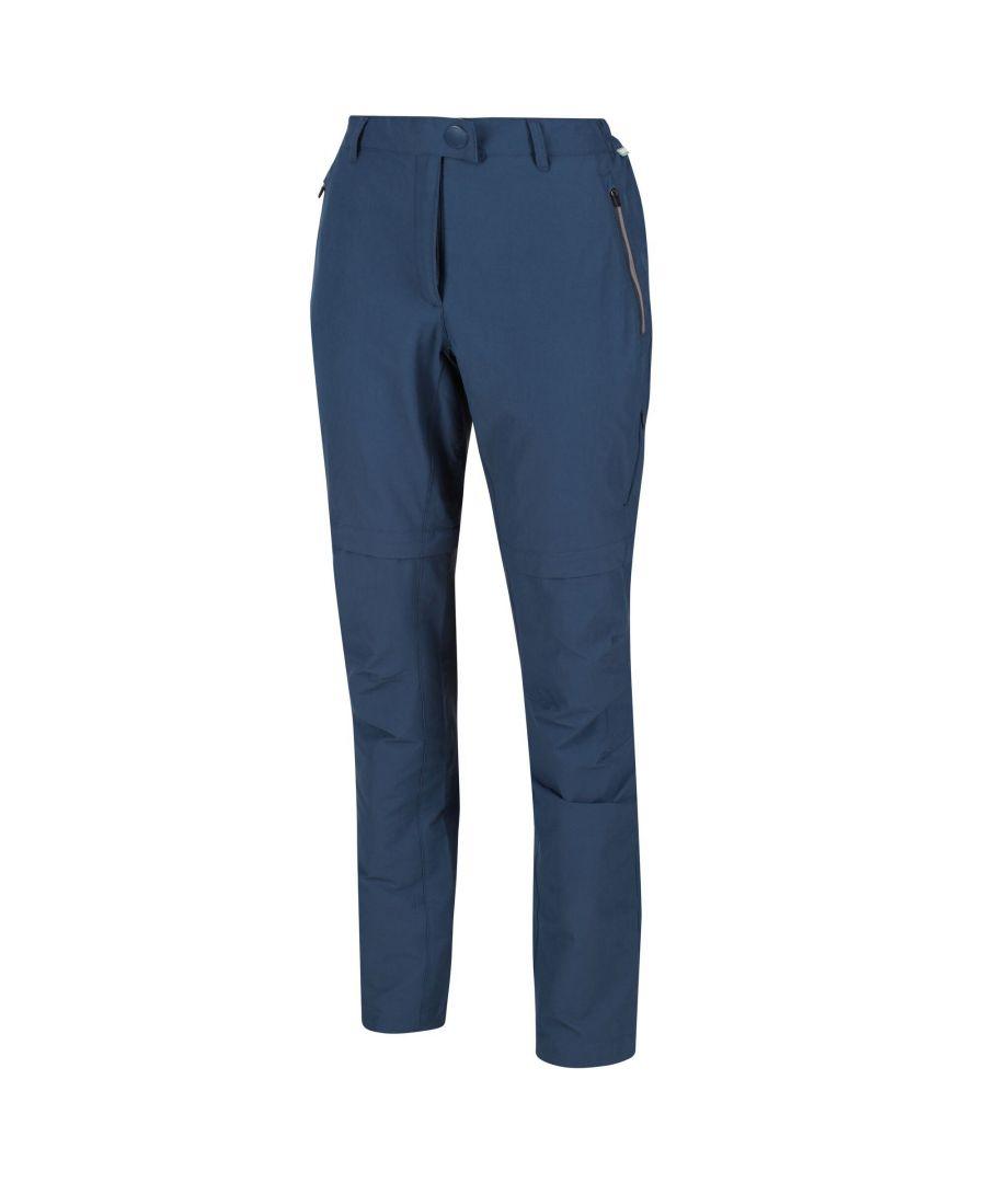 Image for Regatta Womens/Highton Zip Off Walking Trousers