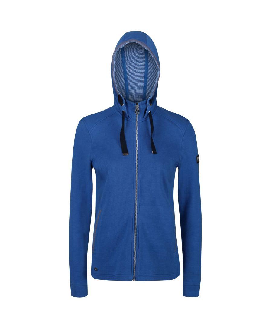 Image for Regatta Womens/Ladies Ramana Full Zip Hooded Fleece