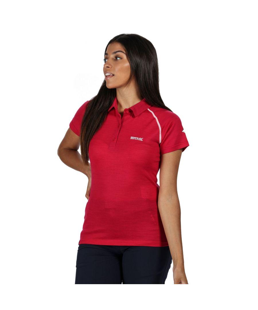 Image for Regatta Womens/Ladies Kalter Polo Shirt