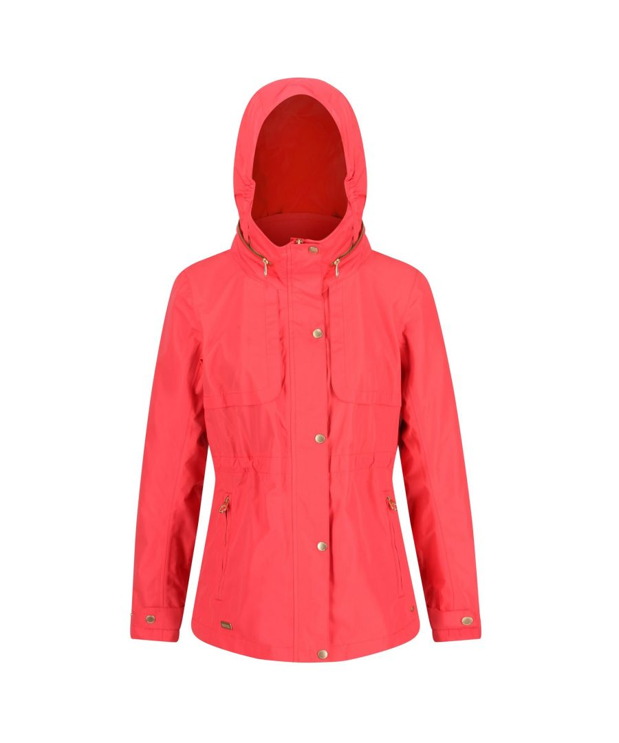 Image for Regatta Womens/Ladies Narelle Waterproof Funnel Neck Jacket
