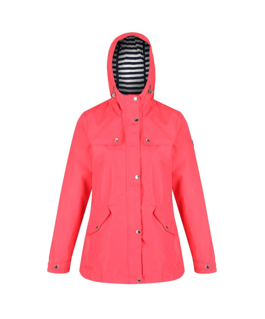 Image for Regatta Womens/Ladies Bertille Waterproof Jacket (Red Sky)