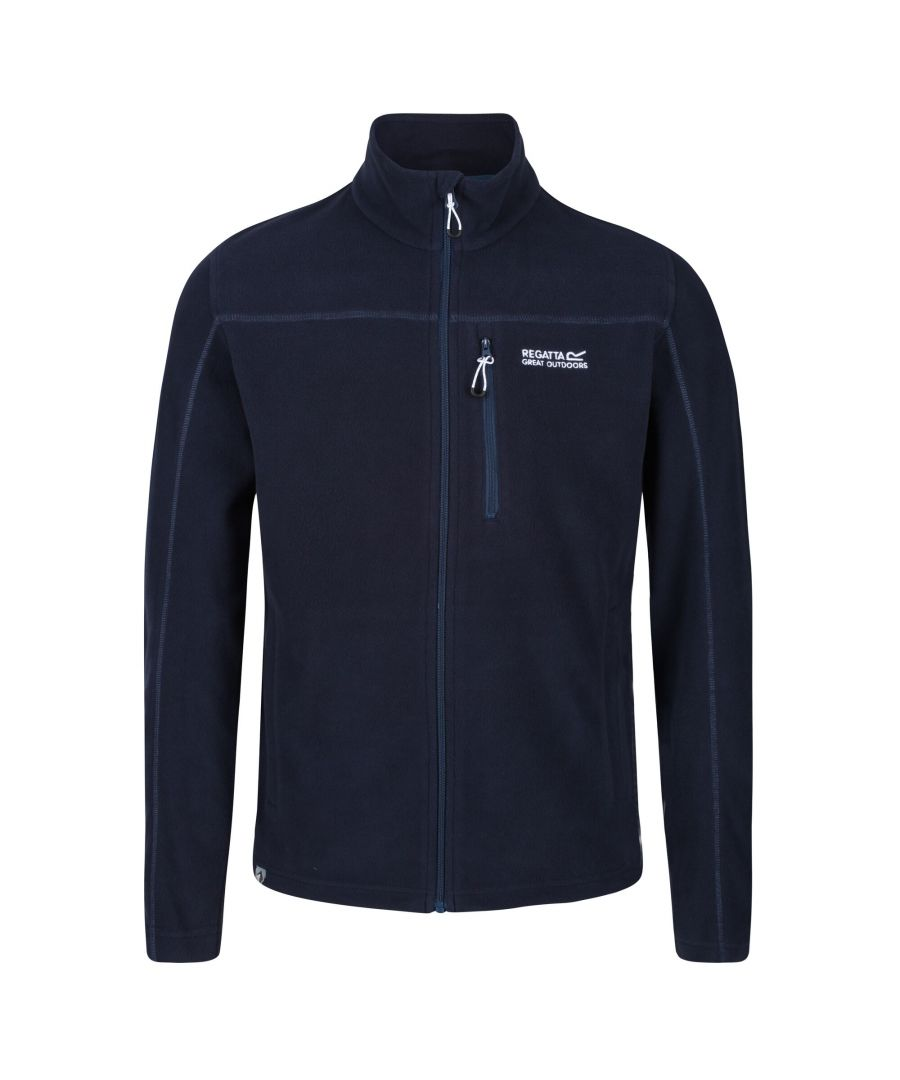 Image for Regatta Mens Fellard Full Zip Fleece (Navy)