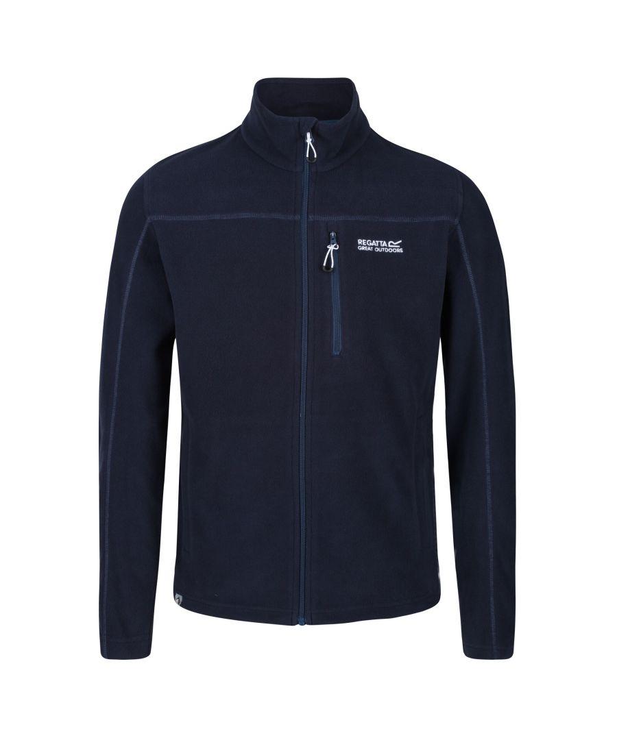 Image for Regatta Mens Fellard Full Zip Fleece (Navy)