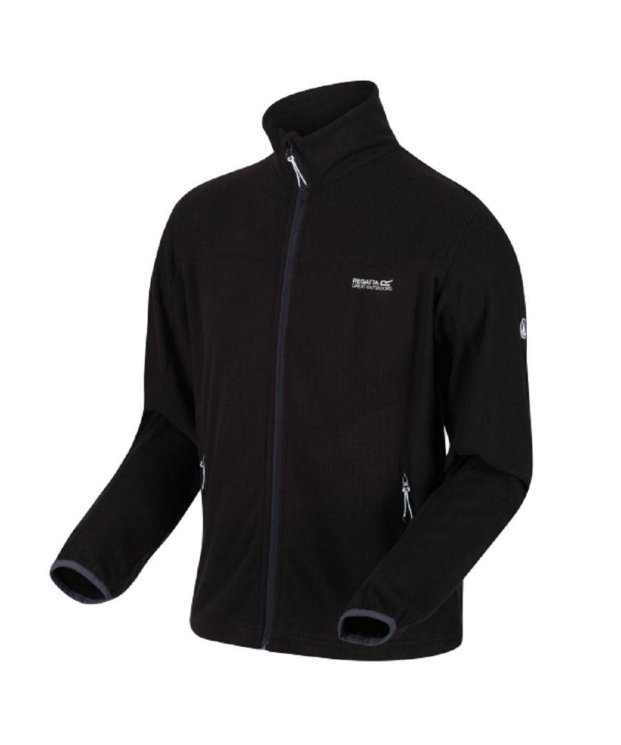 Image for Regatta Mens Stanner Full Zip Lightweight Fleece