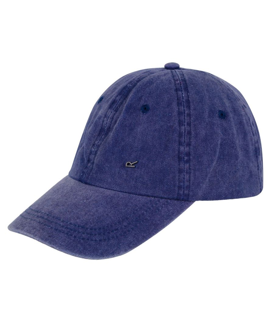 Image for Regatta Mens Cassian Baseball Cap (Navy)