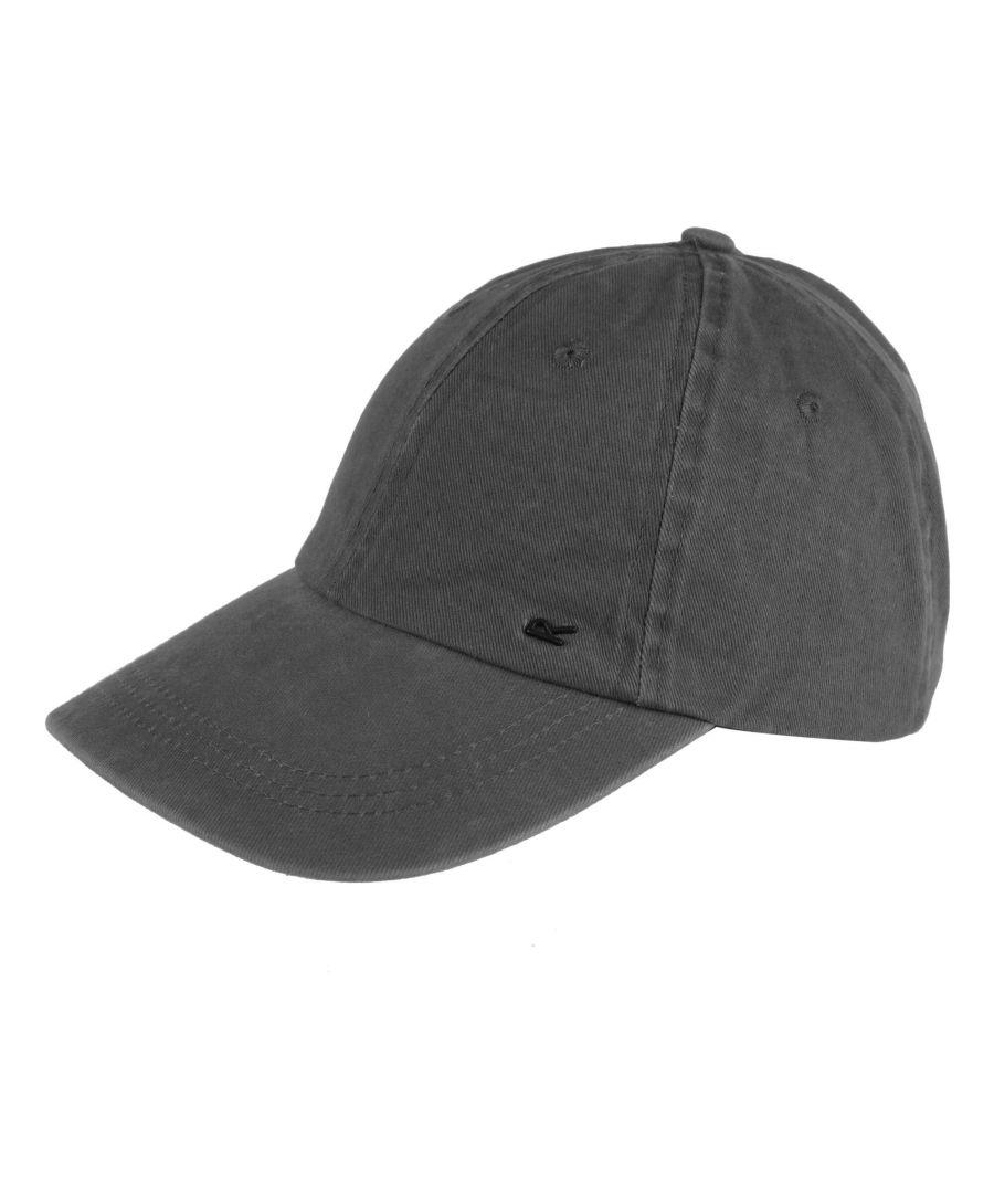 Image for Regatta Mens Cassian Baseball Cap (Seal Grey)