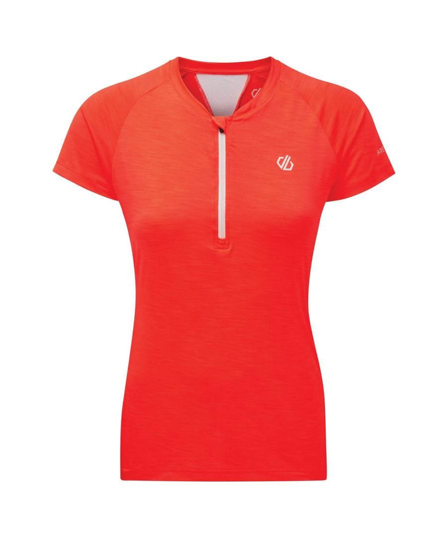 Image for Dare 2B Womens/Ladies Outdare Half Zip Cycling Jersey