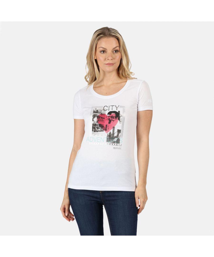 Image for Regatta Womens/Ladies Filandra IV Graphic T-Shirt