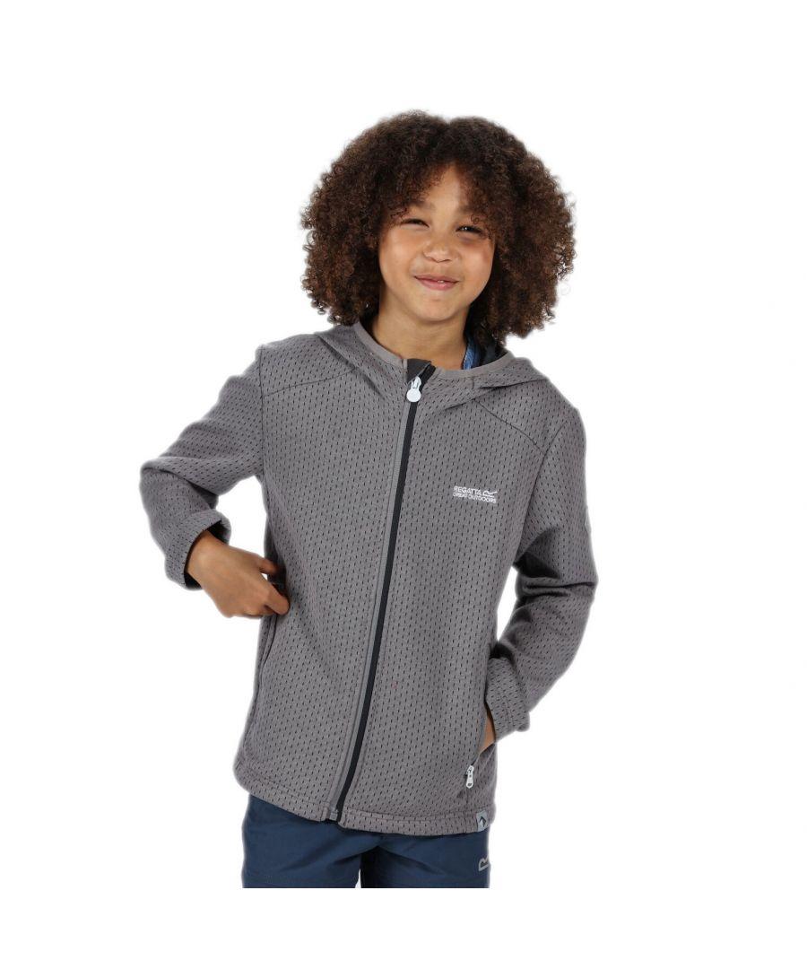 Image for Regatta Boys Orbiter Hooded Fleece Jacket