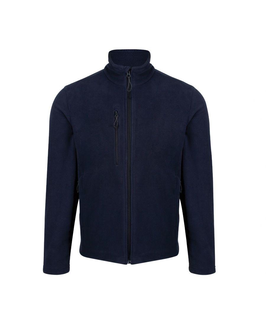 Image for Regatta Mens Honesty Made Recycled Fleece Jacket (Navy)