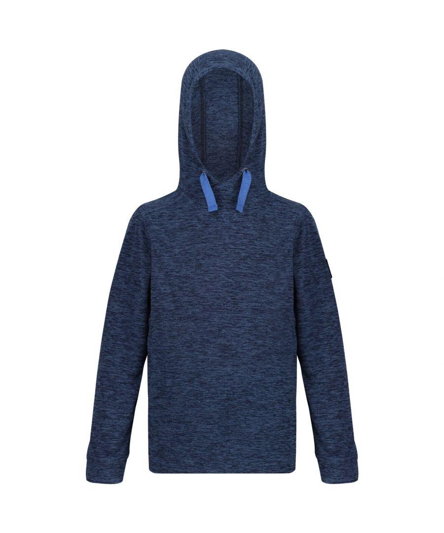 Image for Regatta Childrens/Kids Kade Lightweight Hooded Fleece