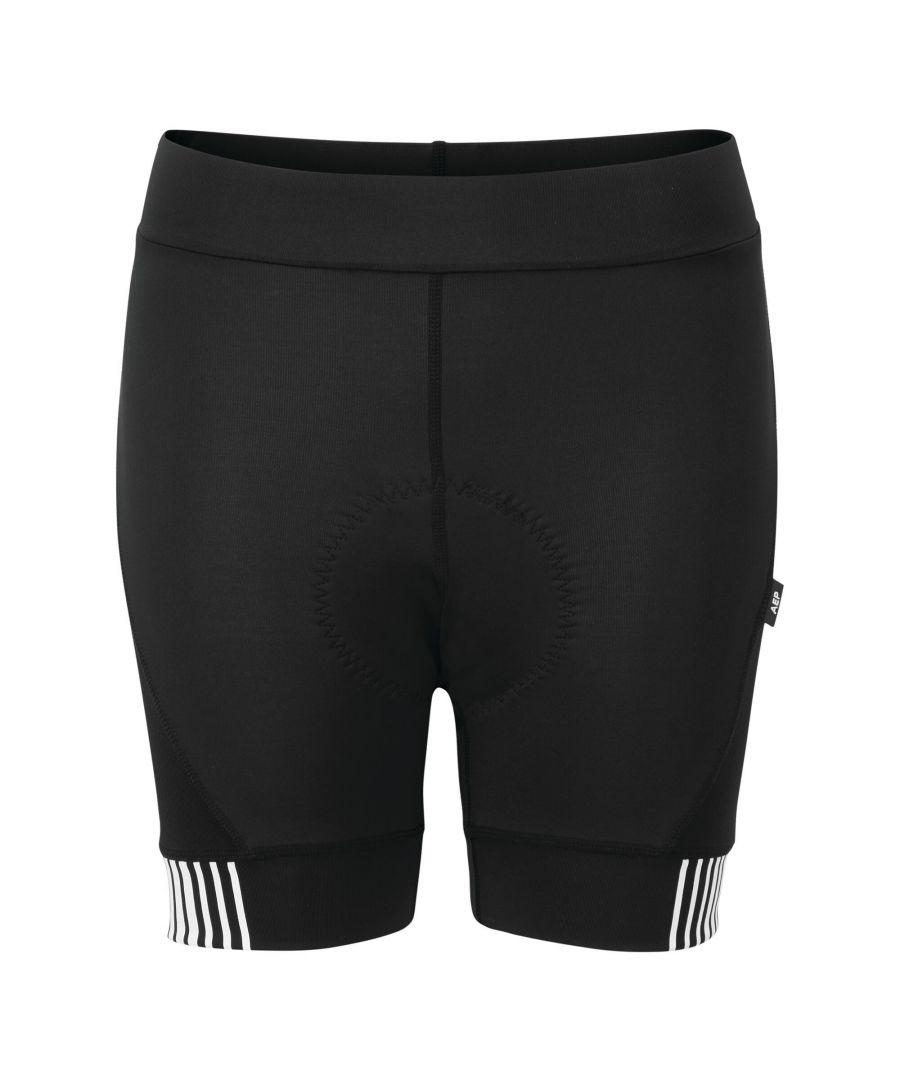 Image for Dare2B Womens/Ladies AEP Propell Shorts (Black/White)