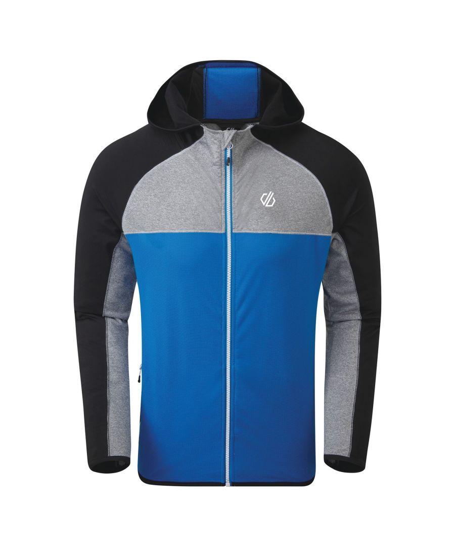 Image for Regatta Mens Ratified II Stretch Midlayer (Athletic Blue/Black)