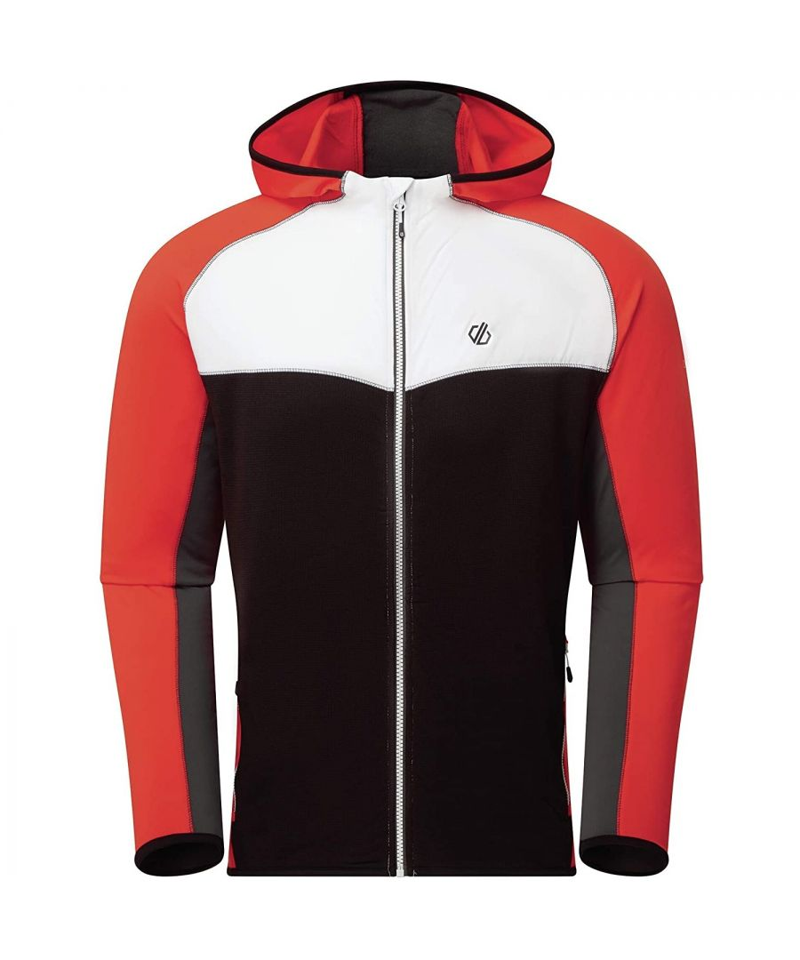Image for Regatta Mens Ratified II Stretch Midlayer (Trail Blaze Red/Black)