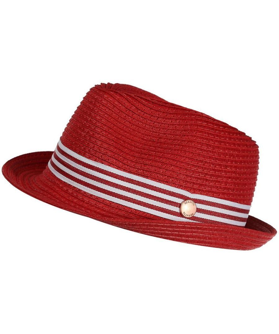 Image for Regatta Childrens/Kids Sun Fedora (Coral Blush)