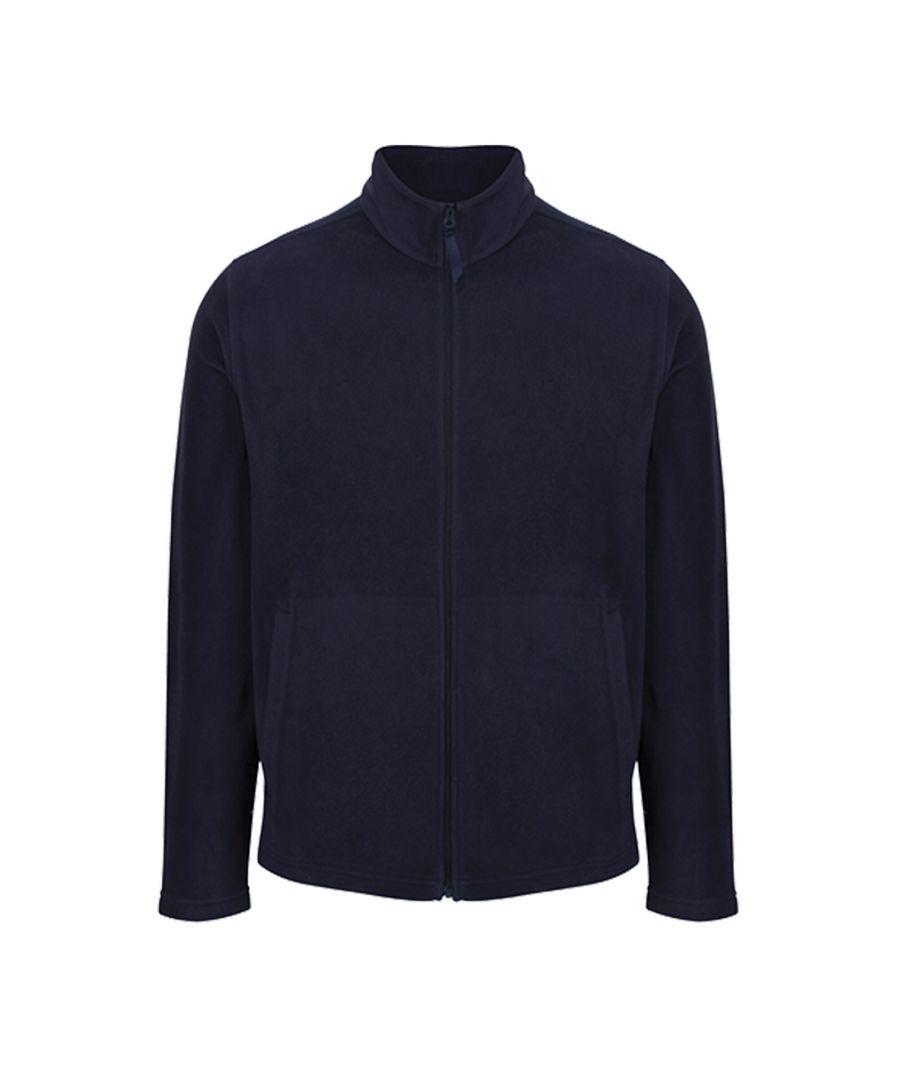 Image for Regatta Mens Classic Microfleece Jacket (Dark Navy)