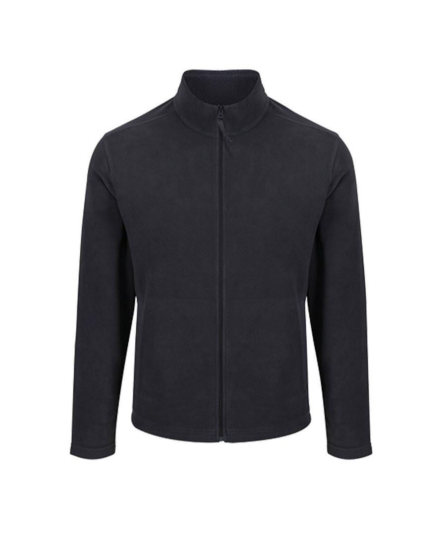 Image for Regatta Mens Classic Microfleece Jacket (Seal Grey)