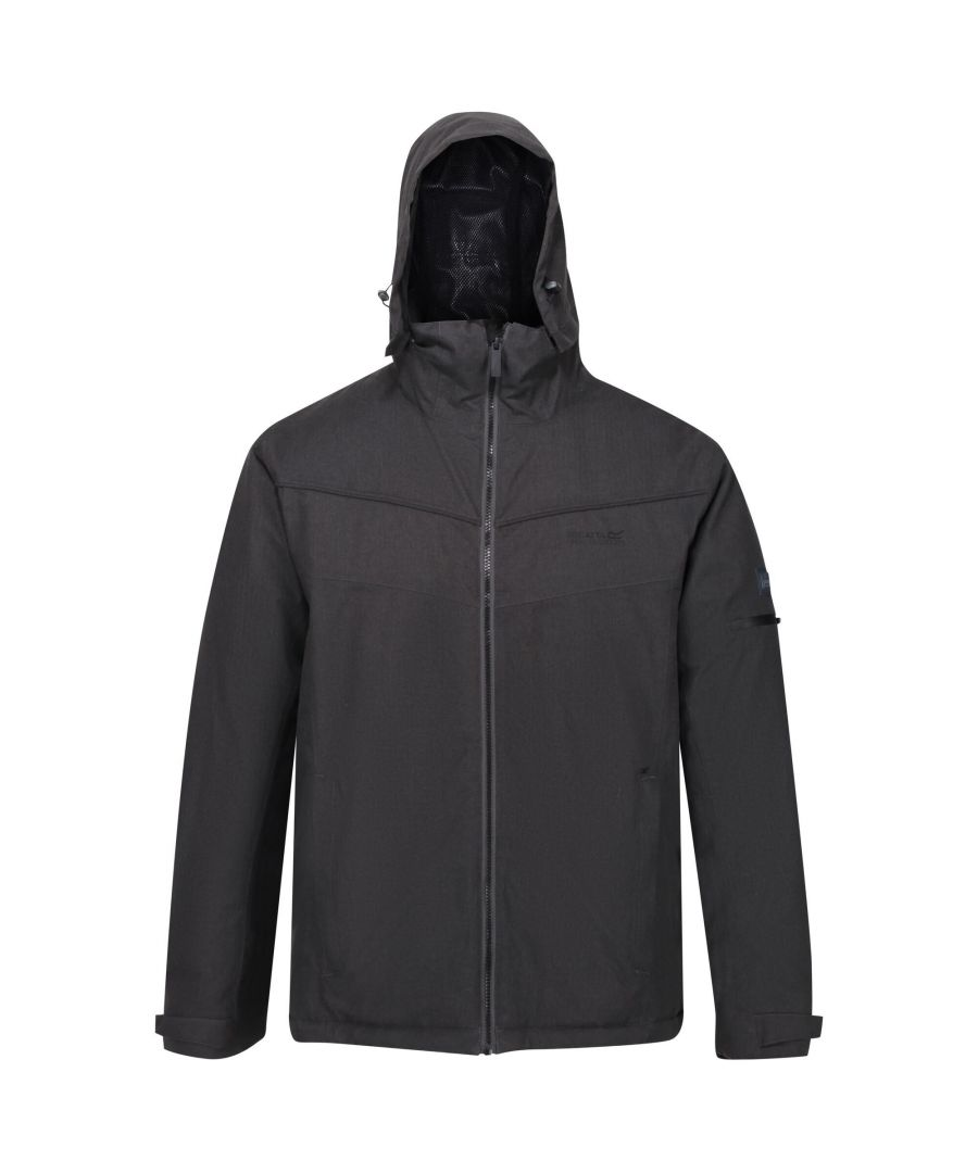 Image for Regatta Mens Highside Insulated Waterproof Jacket (Ash)