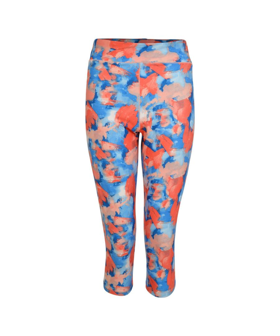 Image for Dare 2B Womens/Ladies Influential Leggings (Fiery Coral)