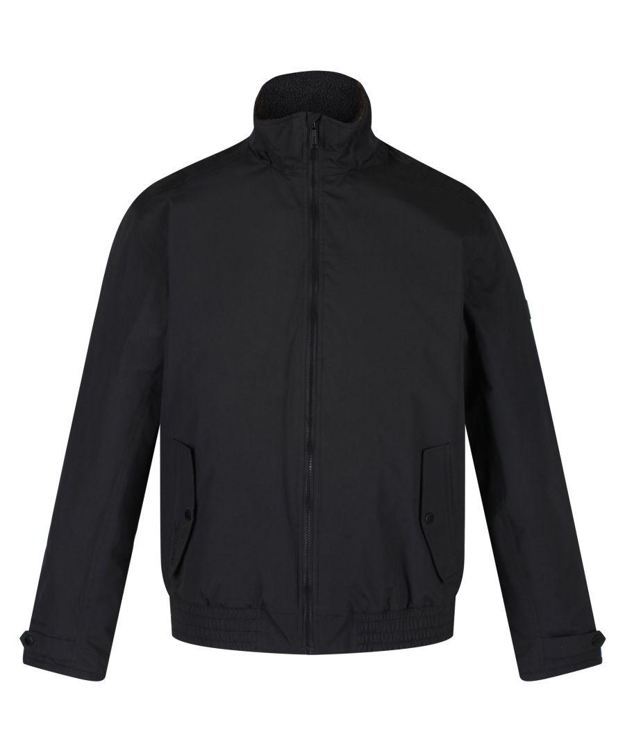 Image for Regatta Mens Rayan Waterproof Insulated Jacket (Black)