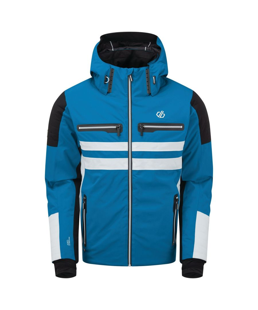 Image for Dare 2B Mens Surge Out Insulated Ski Jacket (Petrol Blue)
