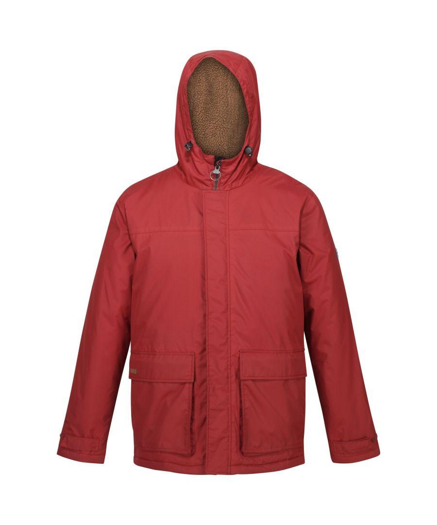Image for Regatta Mens Sterlings II Waterproof Jacket (Bright Apple)