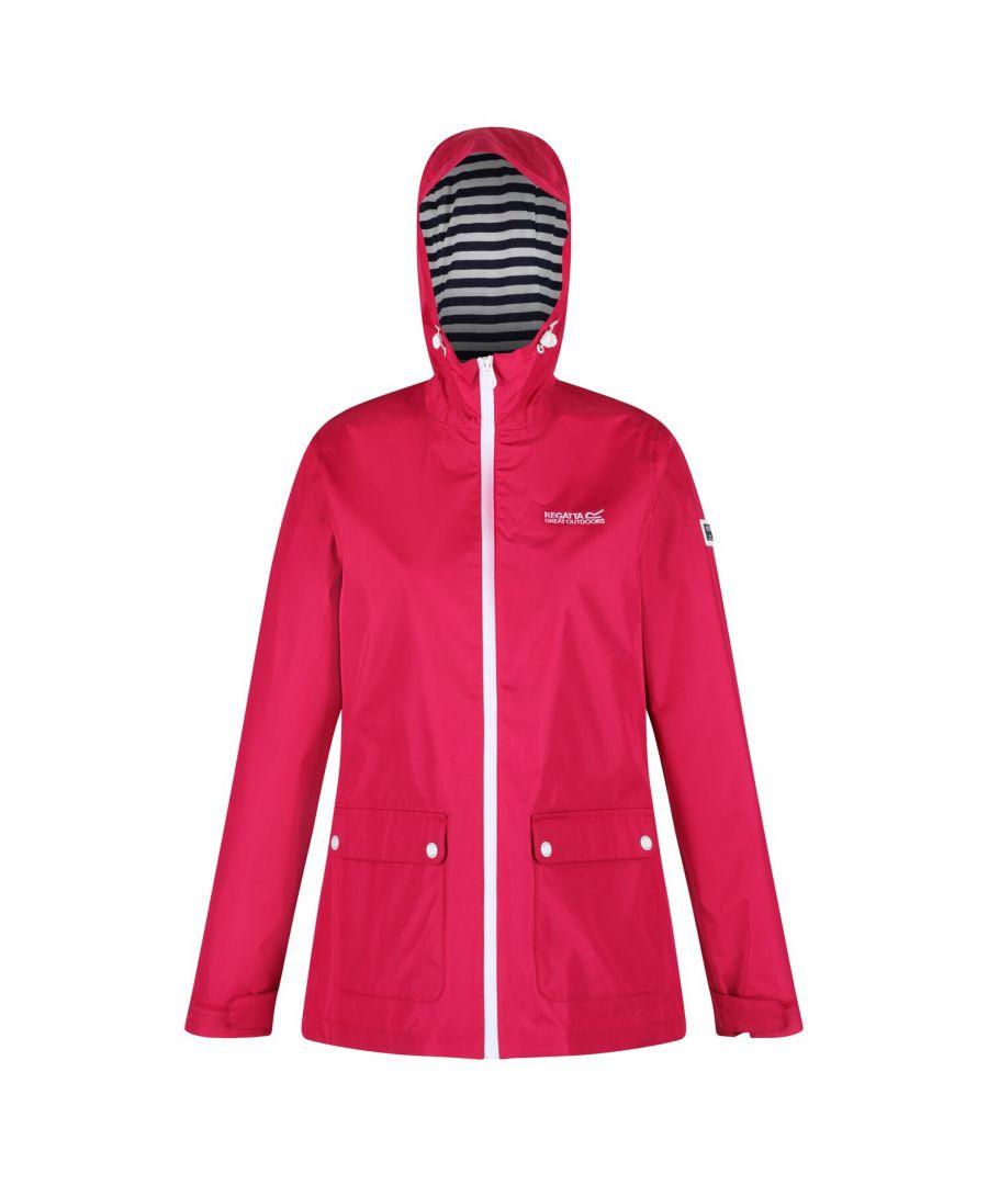 Image for Regatta Womens/Ladies Baymere Waterproof Jacket (Dark Cerise)