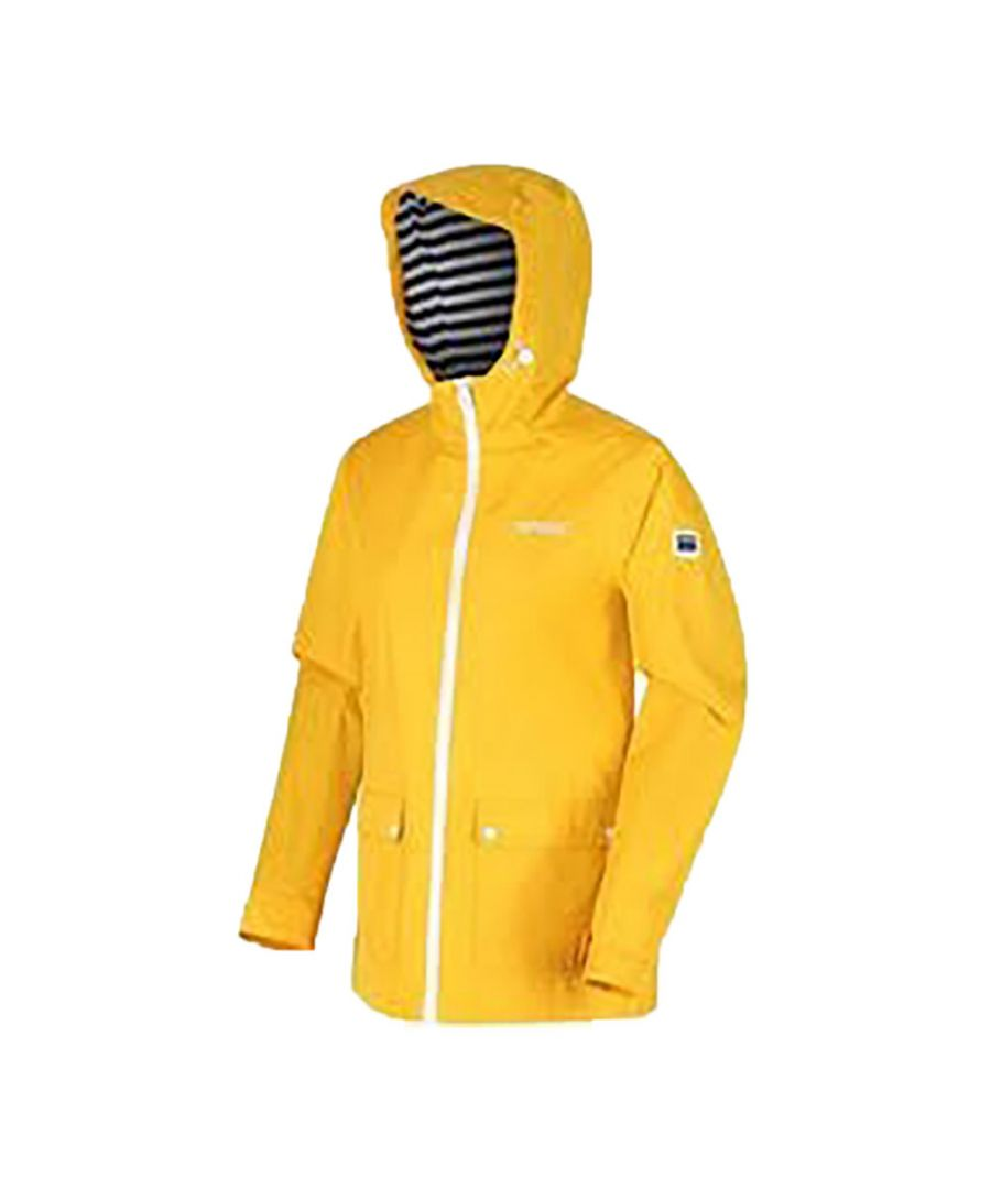 Image for Regatta Womens/Ladies Baymere Waterproof Jacket (Golden Yellow)