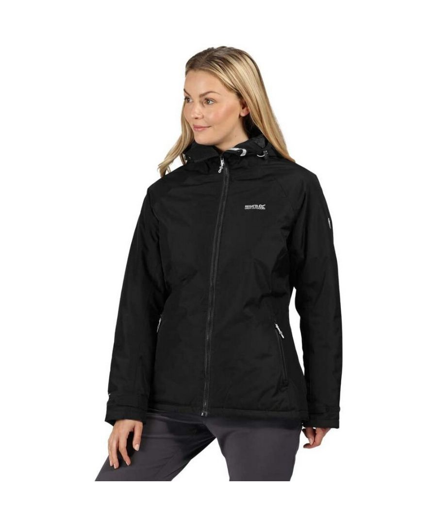Image for Regatta Womens/Ladies Voltera Protect Insulated Waterproof Jacket (Black)