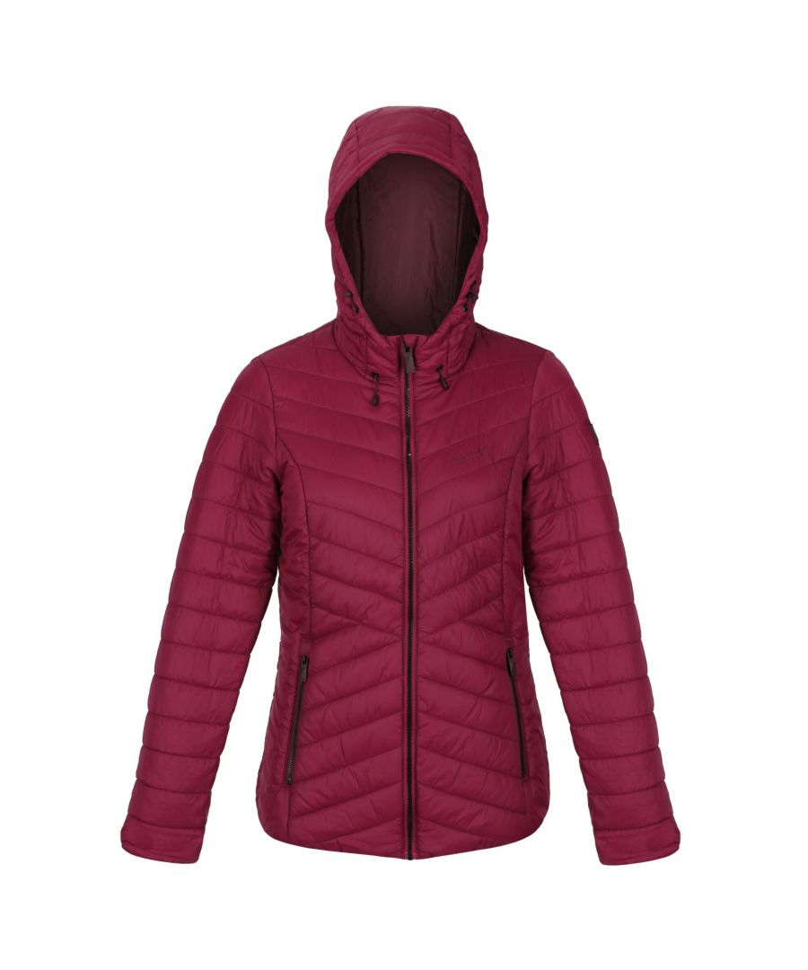 Image for Regatta Womens/Ladies Voltera Loft Walking Insulated Jacket (Purple Potion)