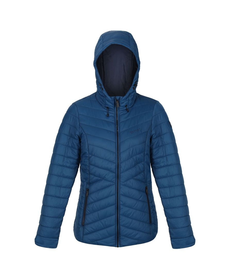 Image for Regatta Womens/Ladies Voltera Loft Walking Insulated Jacket (Blue Opal)