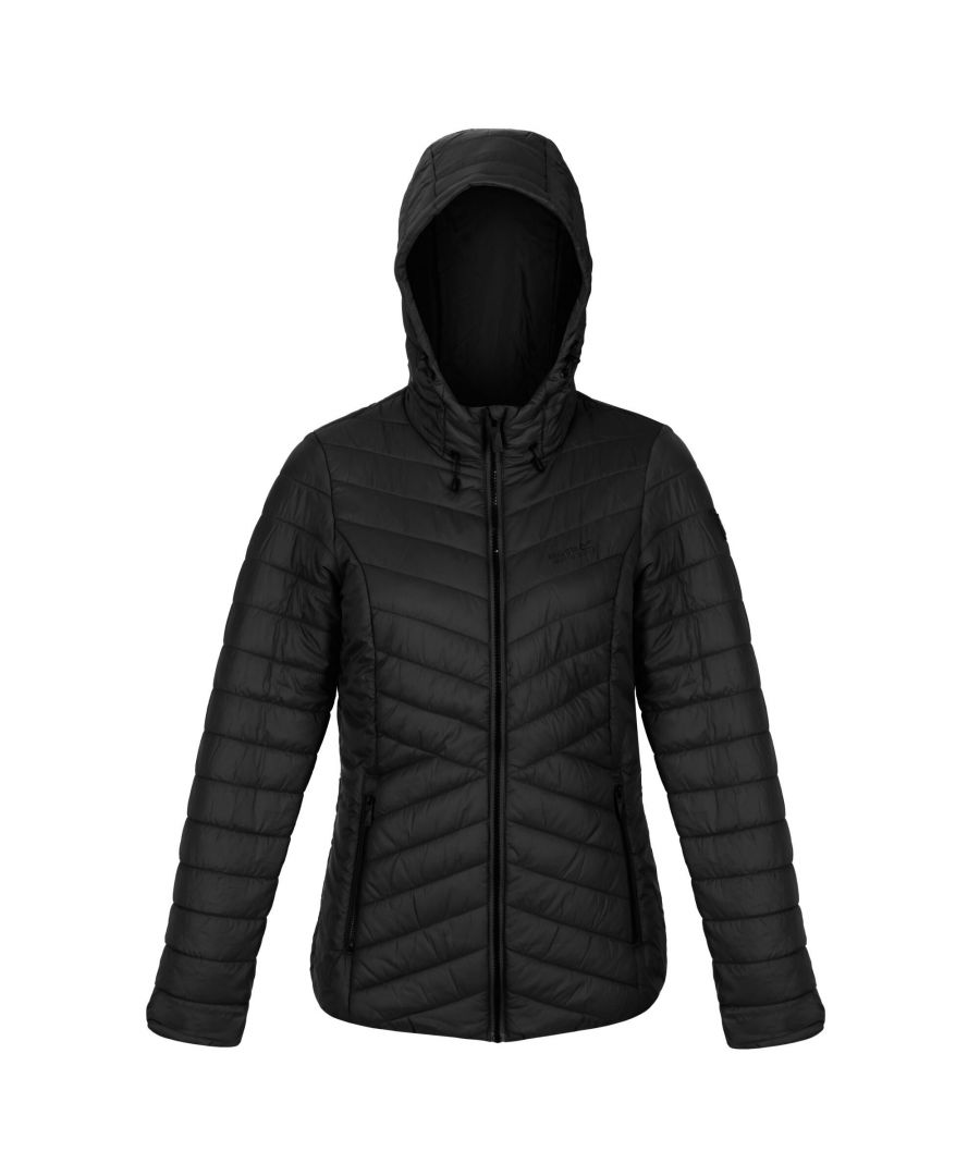 Image for Regatta Womens/Ladies Voltera Loft Walking Insulated Jacket (Black)