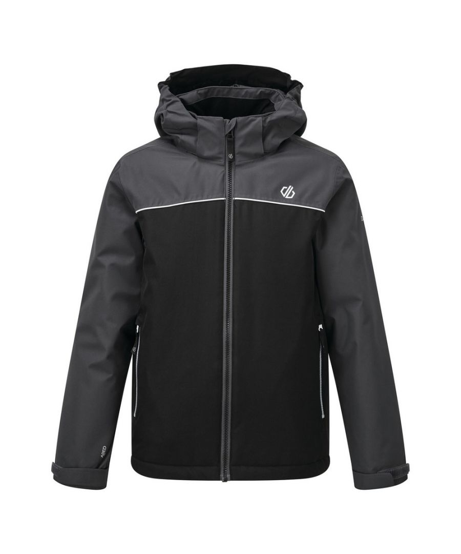 Image for Dare 2B Childrens/Kids Impose Insulated Ski Jacket (Black/Ebony)