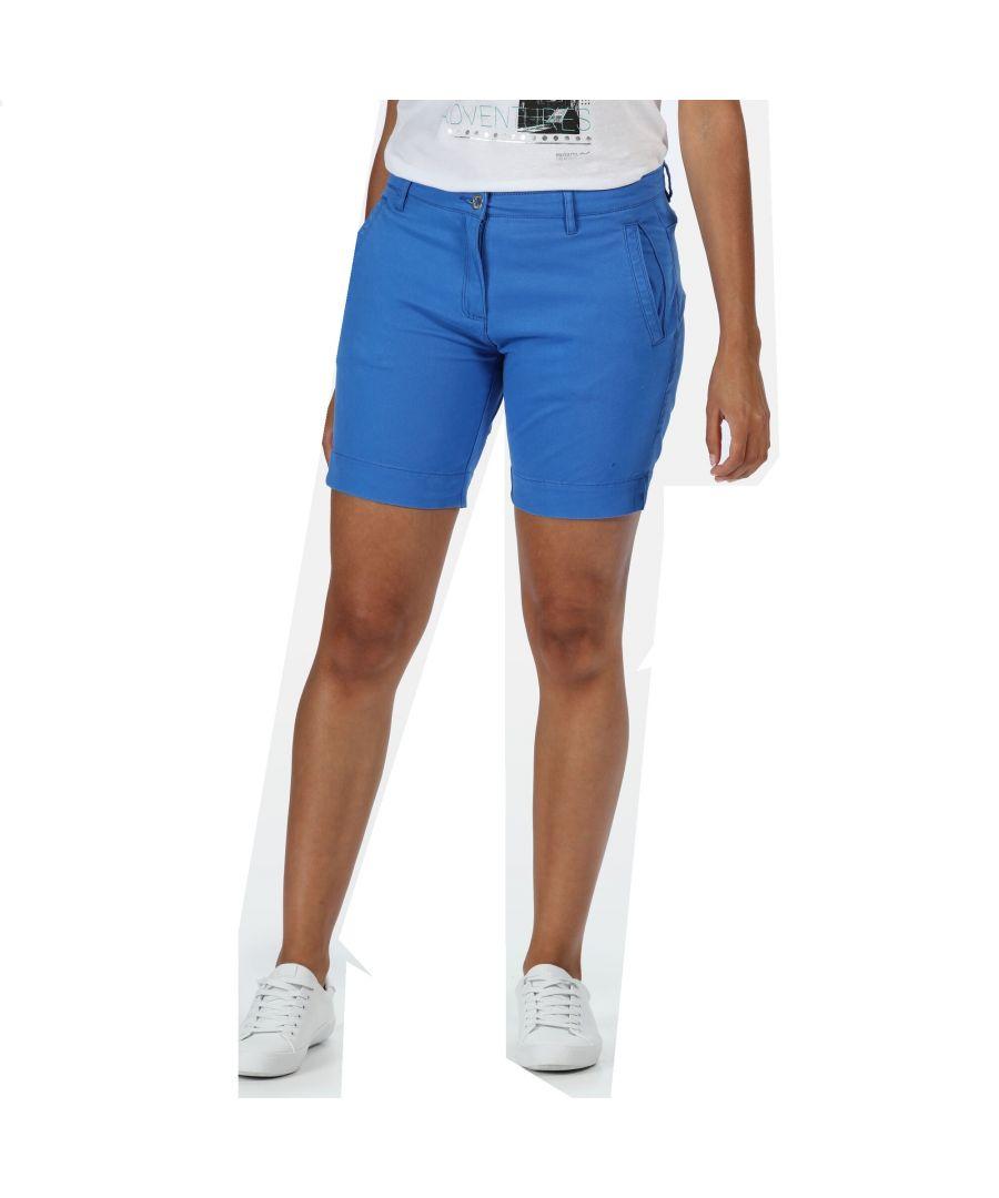 Image for Regatta Womens/Ladies Solita II Shorts (Marina Blue)