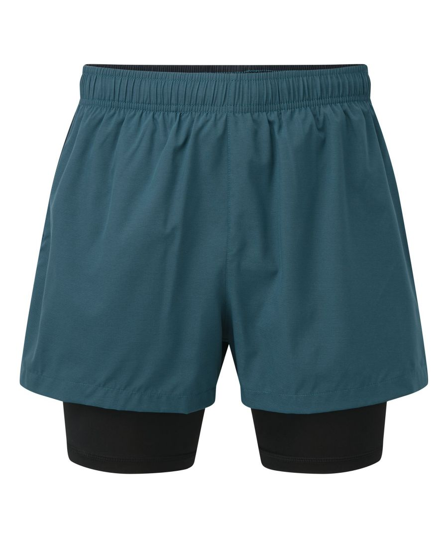 Image for Dare 2B Mens Recreate Gym Shorts (Majolica Blue/Outer Space Blue)