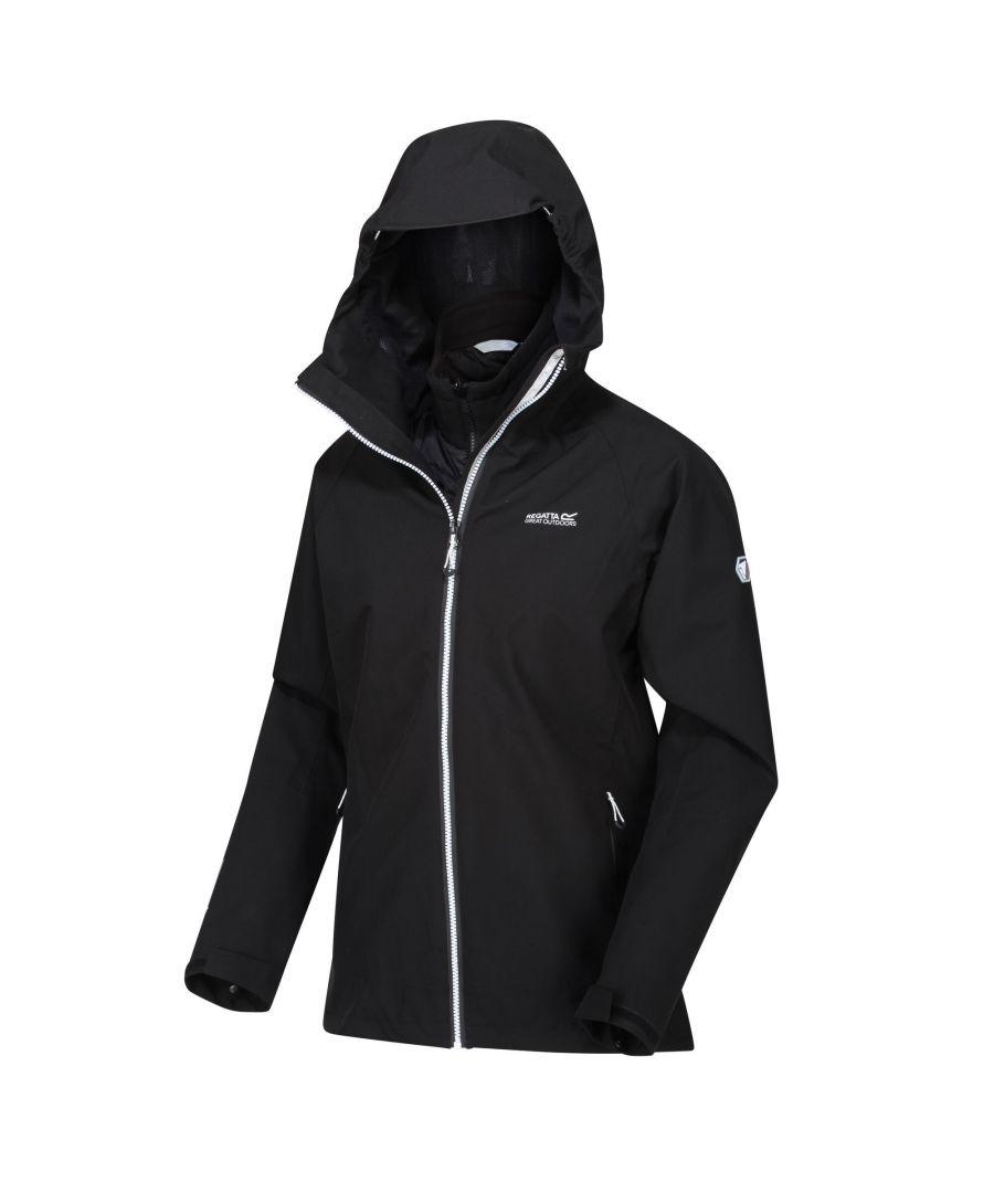 Image for Regatta Womens/Ladies Wentwood V Waterproof Jacket (Black)
