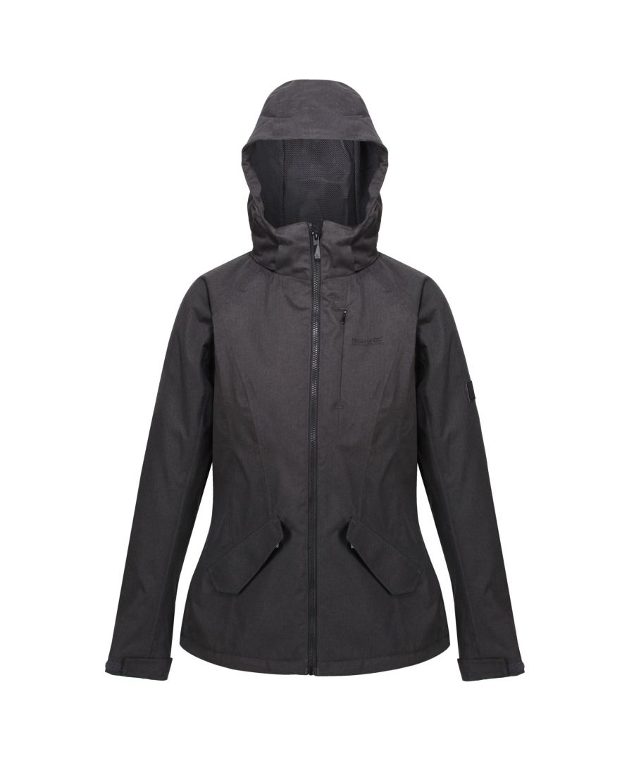Image for Regatta Womens/Ladies Highside V Insulated Waterproof Jacket (Ash)