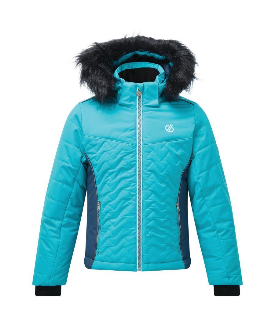 Image for Dare 2B Childrens/Kids Snowdrop Ski Jacket (Ceramic)