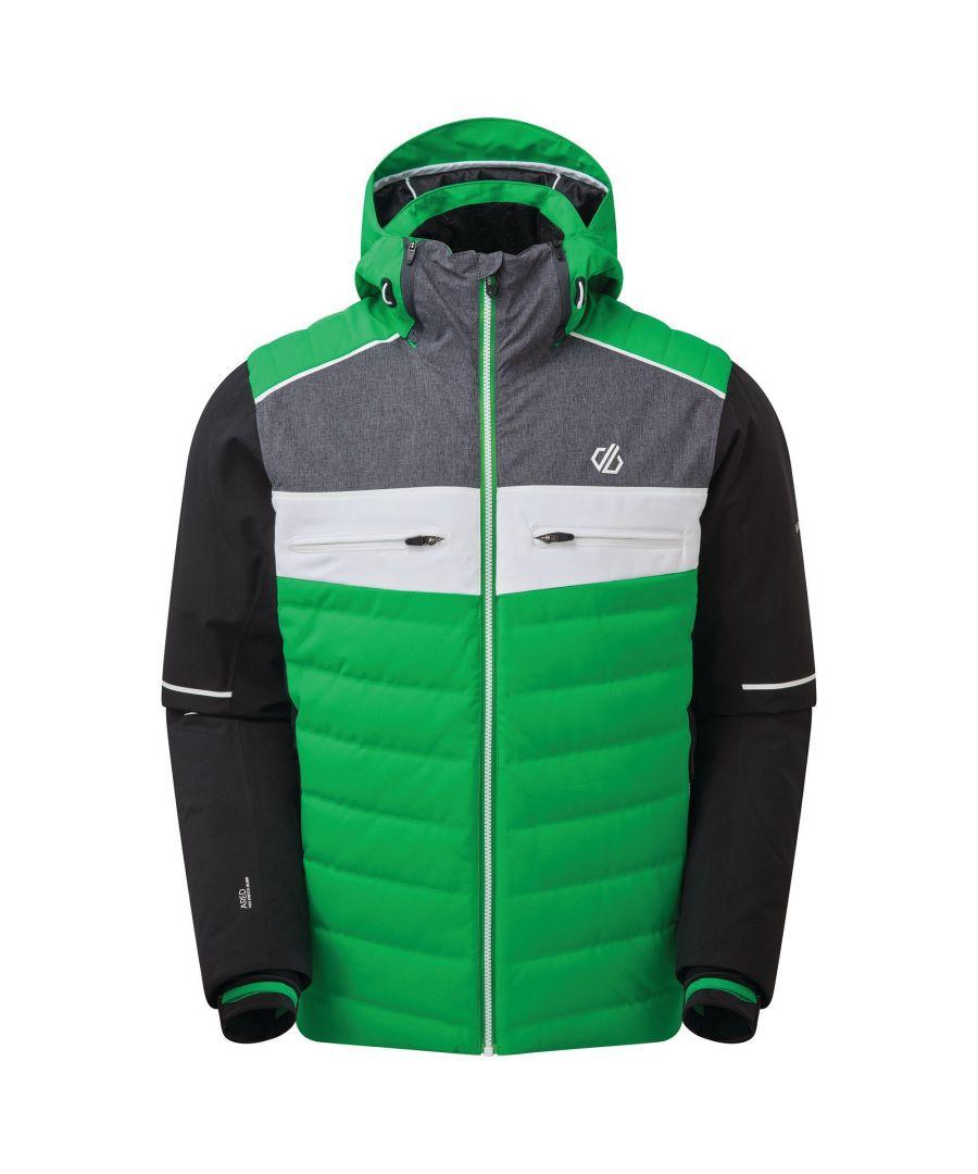 Image for Dare 2B Mens Cipher Ski Jacket (Vivid Green/Black)