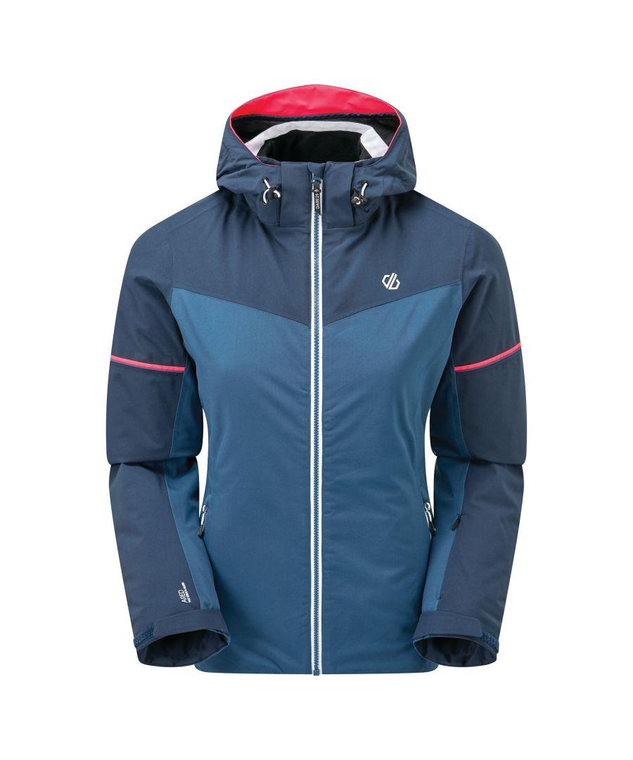 Image for Dare 2B Womens/Ladies Enclave Insulated Ski Jacket (Dark Denim/Nightfall Navy)