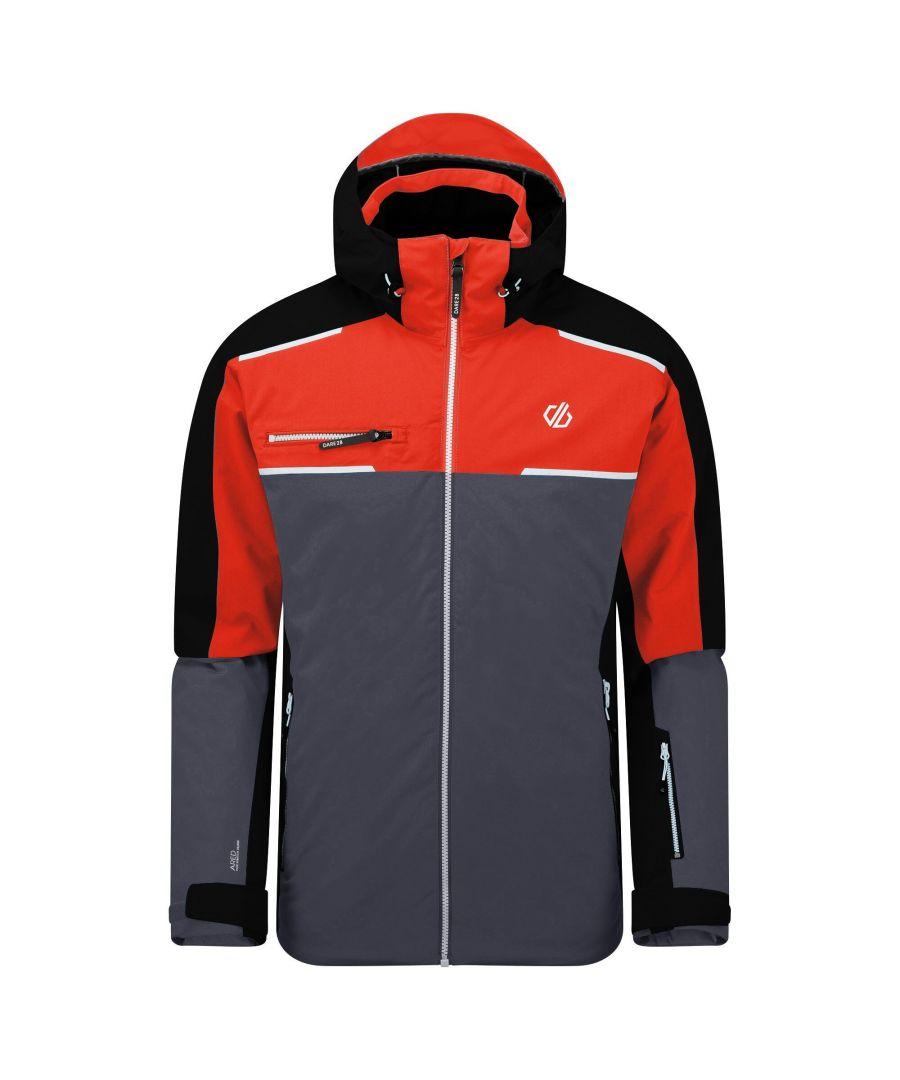 Image for Dare 2B Mens Intermit II Waterproof Ski Jacket (Trail Blaze Red/Black)