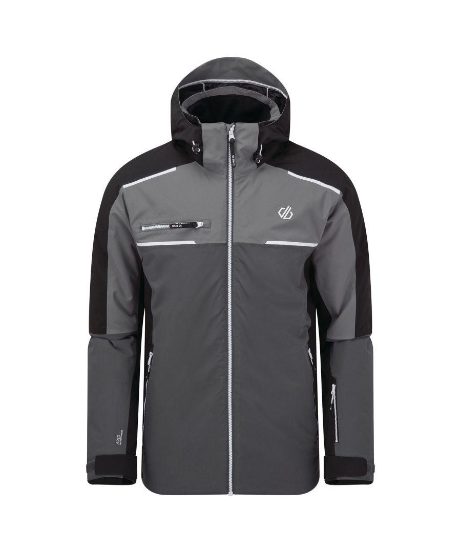Image for Dare 2B Mens Intermit II Waterproof Ski Jacket (Ebony/Black)