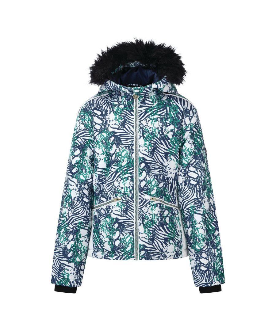 Image for Dare 2B Girls Far Out Waterproof Ski Jacket (Ceramic)