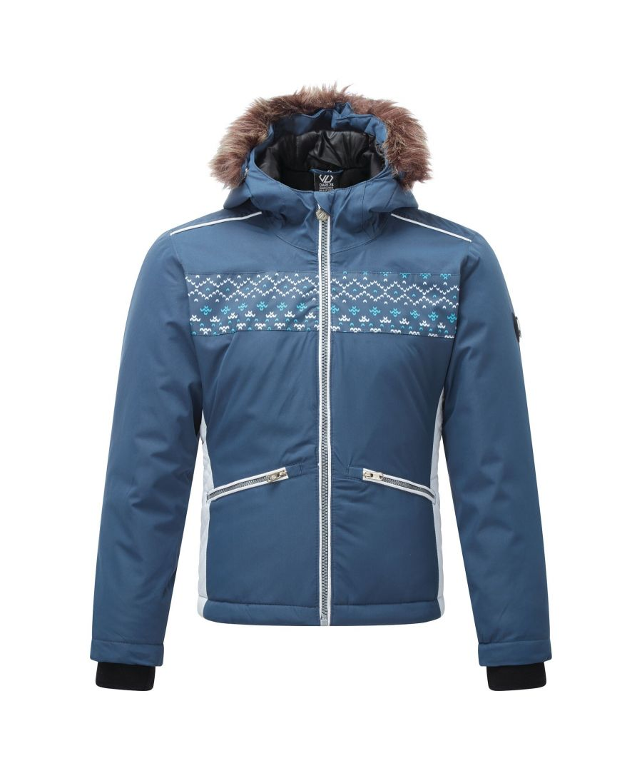 Image for Dare 2B Girls Far Out Ski Jacket (Dark Denim)