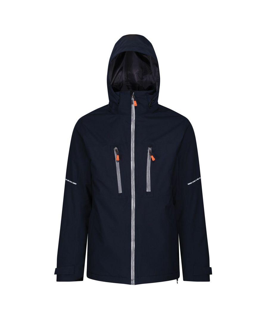 Image for Regatta Mens X-Pro Marauder III Insulated Jacket (Navy/Grey)